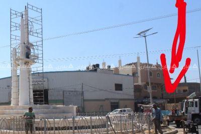 المنطقه  شارع صلاح الدين مع شارع عشرة  مقابل سوق سيارات