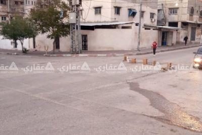 منزل على شارعين في غزة