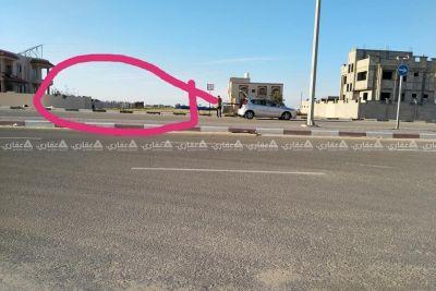 ارض ع شارع قطر