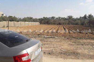 قطعة ارض مساحة ١٦٥٠م فى دير البلح