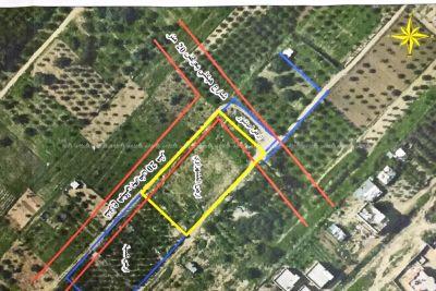أرض 370 متر طابو تتبع بلدية غزة بسعر مغري