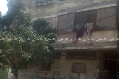 عمارة في شارع اليرموك على شارعين رئيسيين