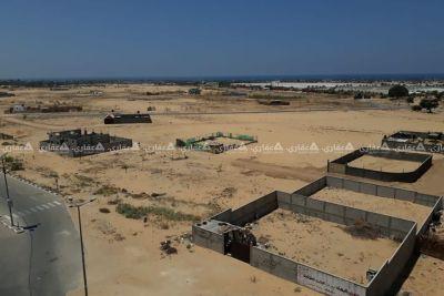ارض للبيع خانيونس جنوب جامعة القدس
