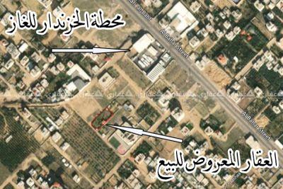 غزة، السودانية، أرض الخزندار، خلف محطة الخزندار للغاز