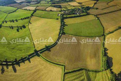 ارض للبيع صالحة للزراعة والسكن