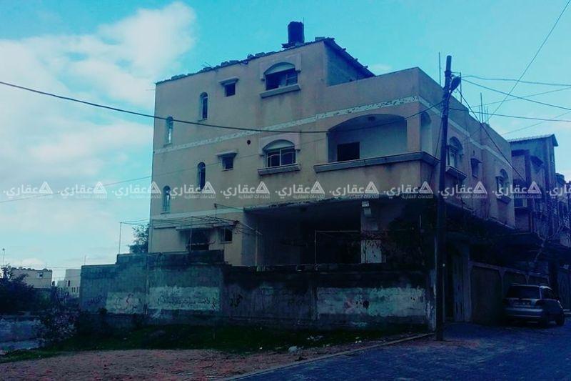 منزل مقام على ارض طابو على شارع صلاح الدين