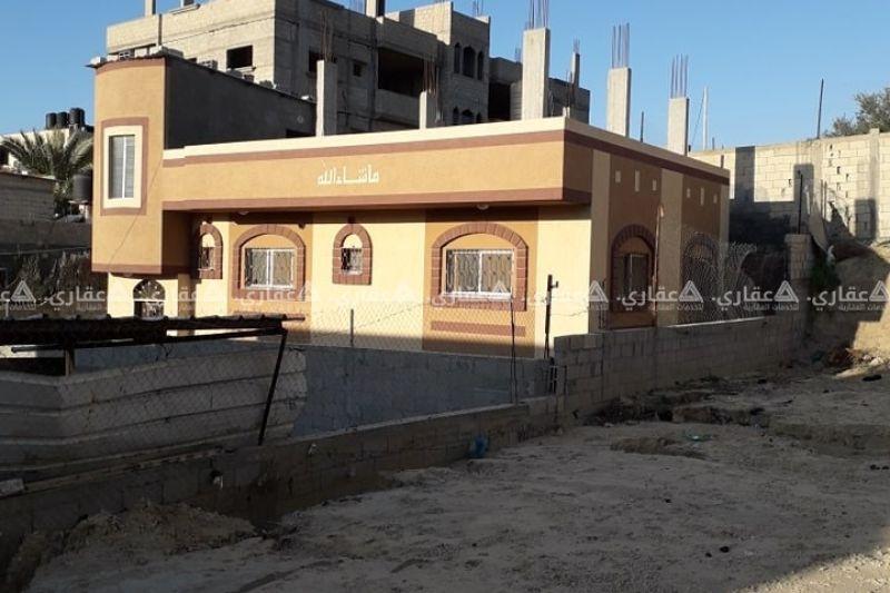 بيت للبيع بدير البلح مأسس لطابق الخامس