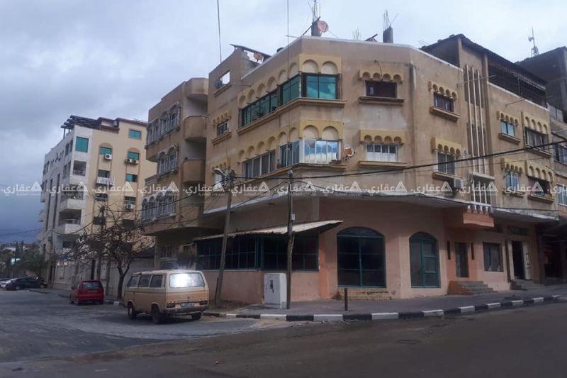 للبيع عمارة في أرقى وأجمل منطقة في غزة