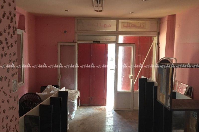 محل مشطب للبيع شارع 15 - نابلس