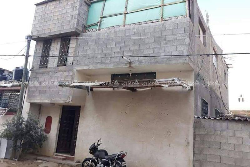 منزل باطون مستقل بناء جديد للبيع