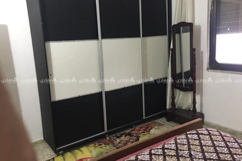 شقه مفروشه رام الله التحتا قرب ملحمه الخليلي
