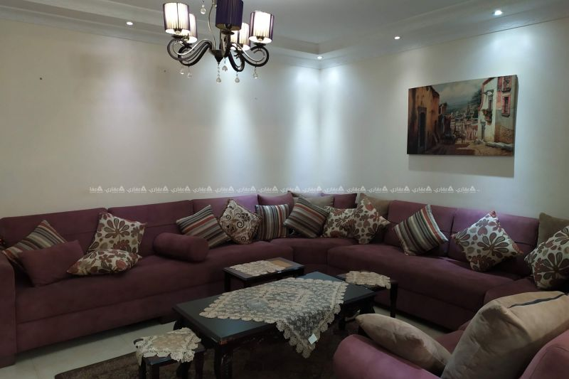 شقة مفروشة للإيجار قرب دوار نبيل عمرو واسكانات الكاثوليك