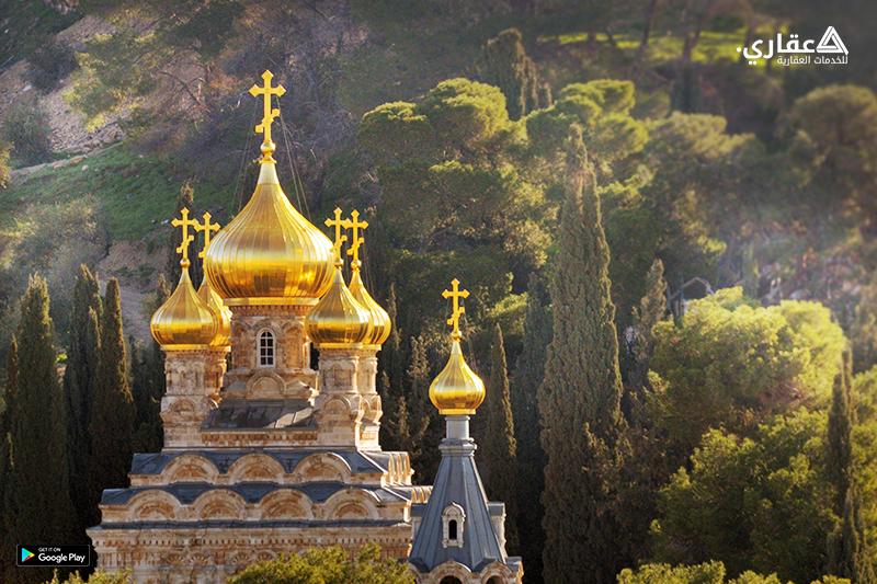 كنيسة مريم المجدلية من أثار ومعالم فلسطين في القدس
