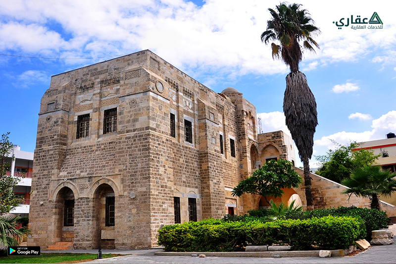 قصر الباشا من أخر القصور الأثرية في مدينة غزة
