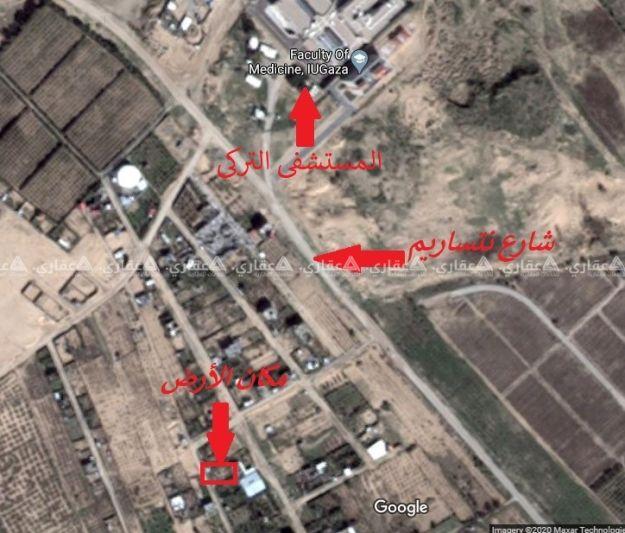 قطعة أرض بمنطقة المغراقة للبيع نقداً