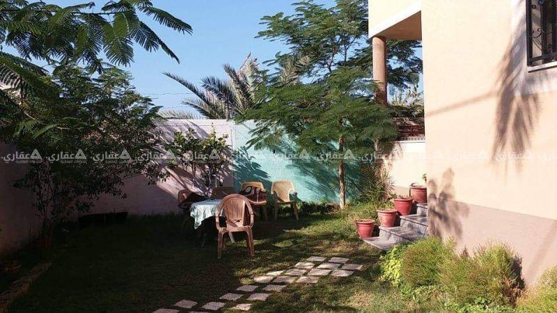 منزل للبيع بإطلالة رائعة  في مكان هادئ و مميز بمدينة دير البلح