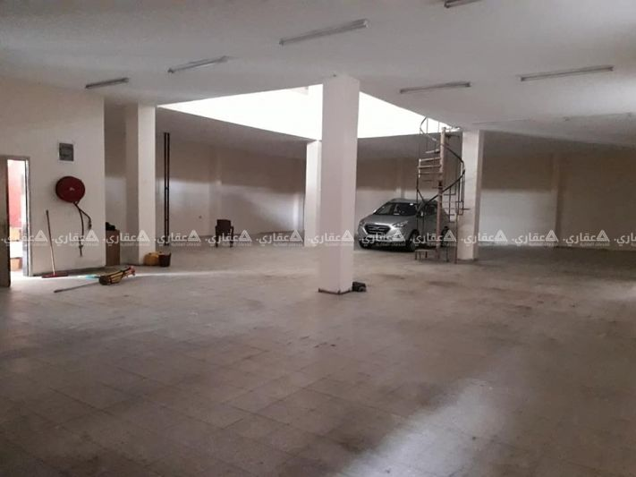 مبنى كامل للايجار (نظام مصنع او مخزن كبير او معرض)